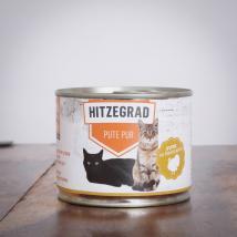 Hitzegrad - Pute Pur 200 g für Katzen