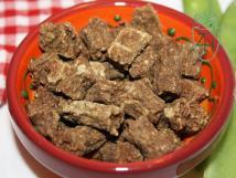Trockenfleisch vom Rind,True Love für Hunde 200g