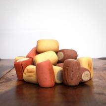 Biskuit Kekse, 500 g für Hunde