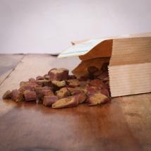 Fleischbrocken Hirsch, 200 g für Hunde