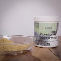 Grünlippmuschelmehl, 100 g für Hunde