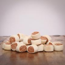 Lachs-Rollies, 500 g für Hunde
