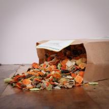 hitzegrad Premium Obst/Gemüse Müsli für Hunde