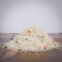 hitzegrad Reis-Gemüse-Mix für Katzen 10kg