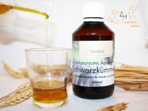 Ägyptisches Schwarzkümmelöl kaltgepresst, 250 ml für Greifvögel