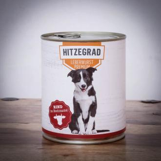 Hitzegrad - Leberwurst, 800g für Hunde 1 Dose