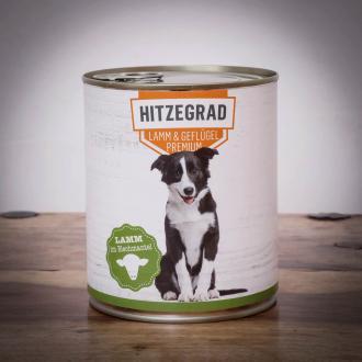 Hitzegrad - Lamm & Geflügel, 800g für Hunde 1 Dose