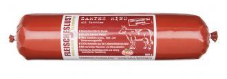 Fleischeslust - Zartes Rind mit Karotten, 800 g für Hunde