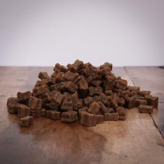 Fleisch Softies Lachs, 200 g für Hunde