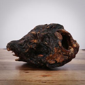 Getrockneter Kehlkopf vom Rind,  1 Stück für Hunde