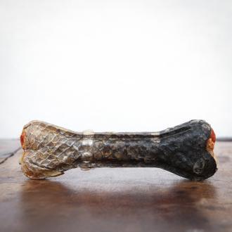 Kauknochen Lachs, 10 cm für Hunde