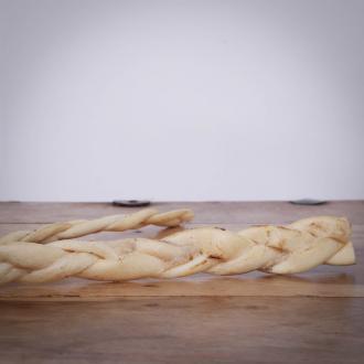 Pferdezöpfe (Haut), ca. 20 cm, getrocknet, 1 Stück für Hunde