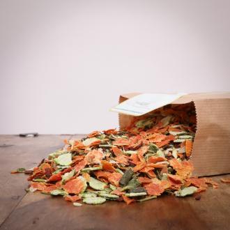 hitzegrad Premium Gemüse Mix für Hunde