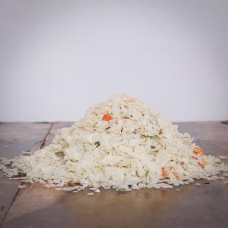 hitzegrad Reis-Gemüse-Mix für Hunde 10kg