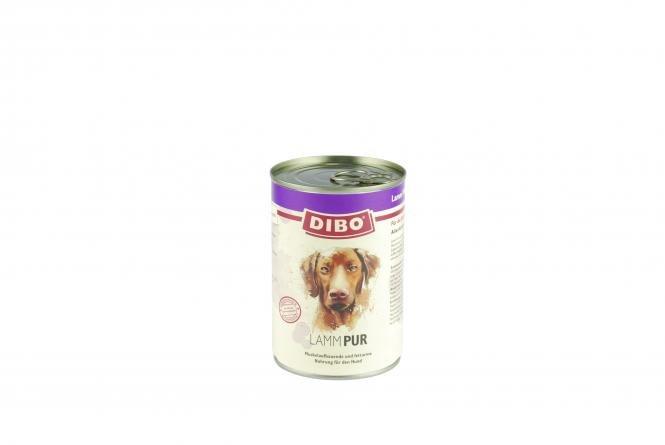 PUR Lamm, 400g für Hunde