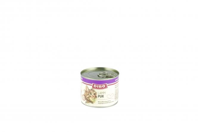 Lamm Cat PUR 200 g Ringpulldose für Katzen