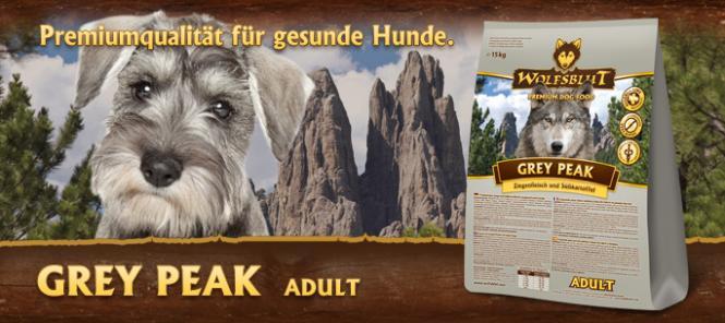Grey Peak, Ziegenfleisch mit Süßkartoffel, 15kg für Hunde