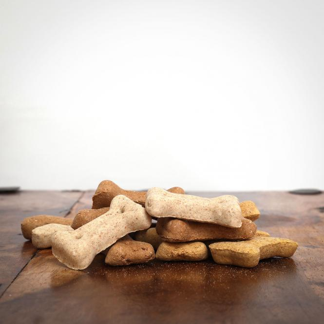 Miniknochen Kekse, 500 g für Hunde