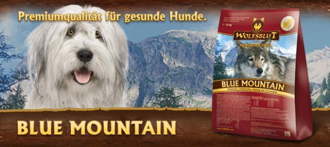 Blue Mountain, 15 kg für Hunde