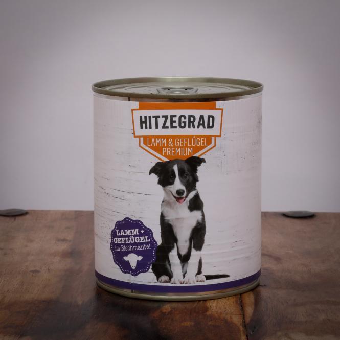 Hitzegrad - Lamm & Geflügel, 400g für Hunde
