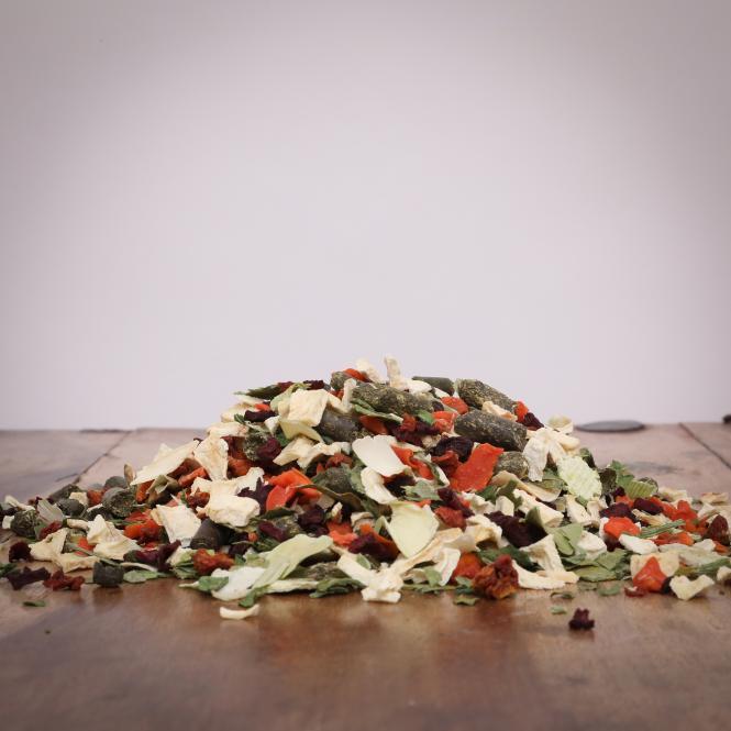 Gemüse Mischung Fit & Gesund Ballaststoffe, 1000 g für Hunde