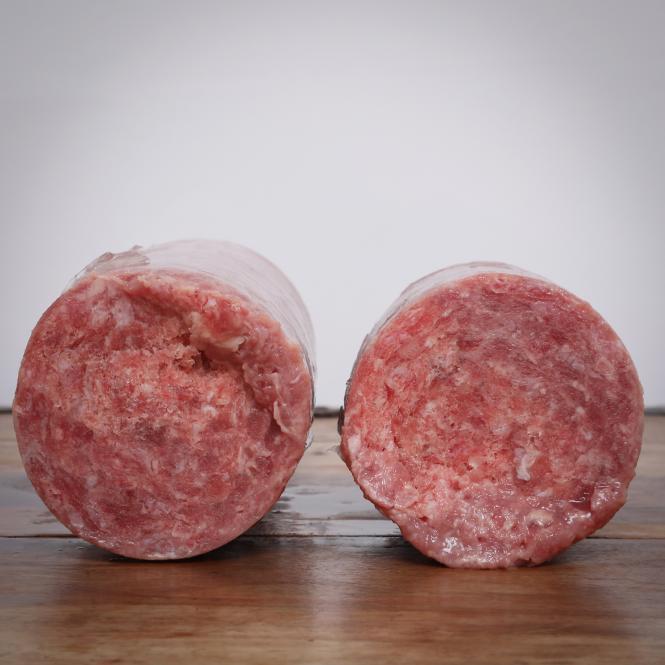 Hühnerhälse, gewolft, 28 x 1000 g für Hunde