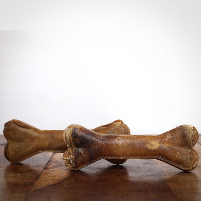 Kauknochen Hirsch, 12 cm für Hunde