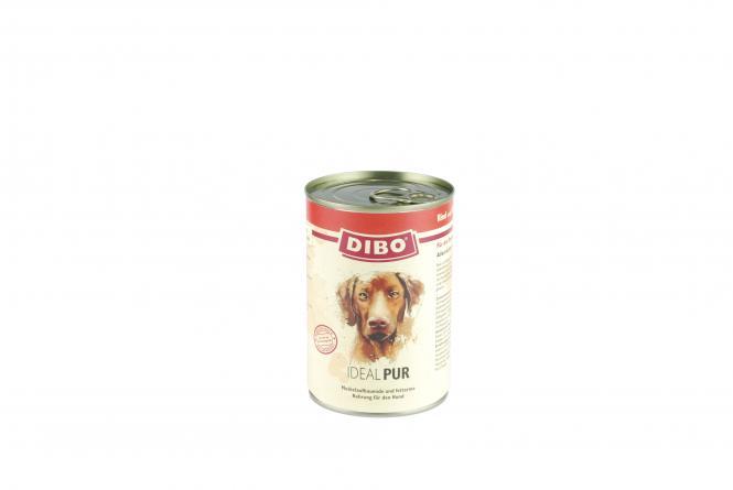 PUR Rind/Geflügel - Ideal, 400g für Hunde Sparpaket 6 Dosen