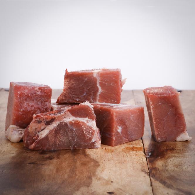 Gulasch vom Rind für Hunde 250g