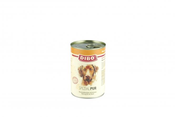 PUR Rind/Pansen - Spezial, 800g für Hunde Sparpaket 6 Dosen