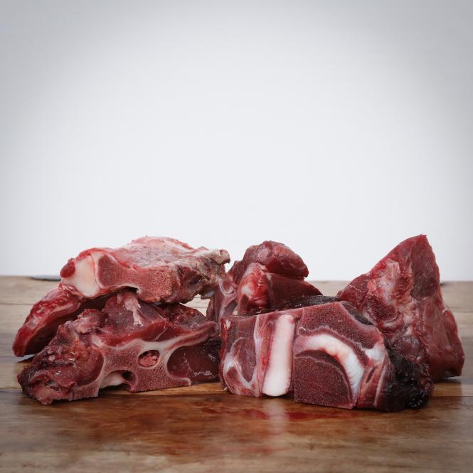 Fleischige Wildknochen, 1000 g für Hunde