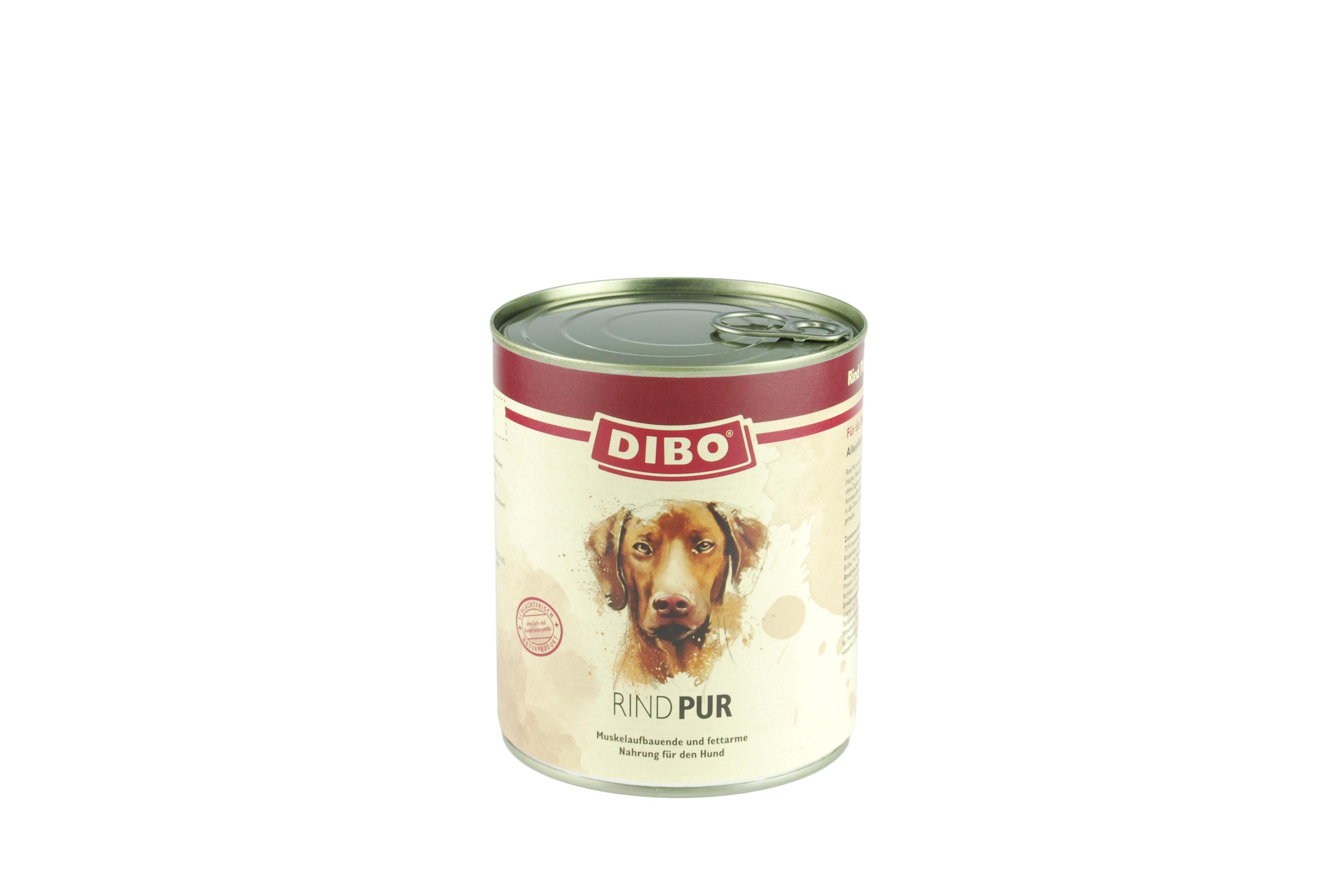 PUR Rindfleisch, 800g für Hunde