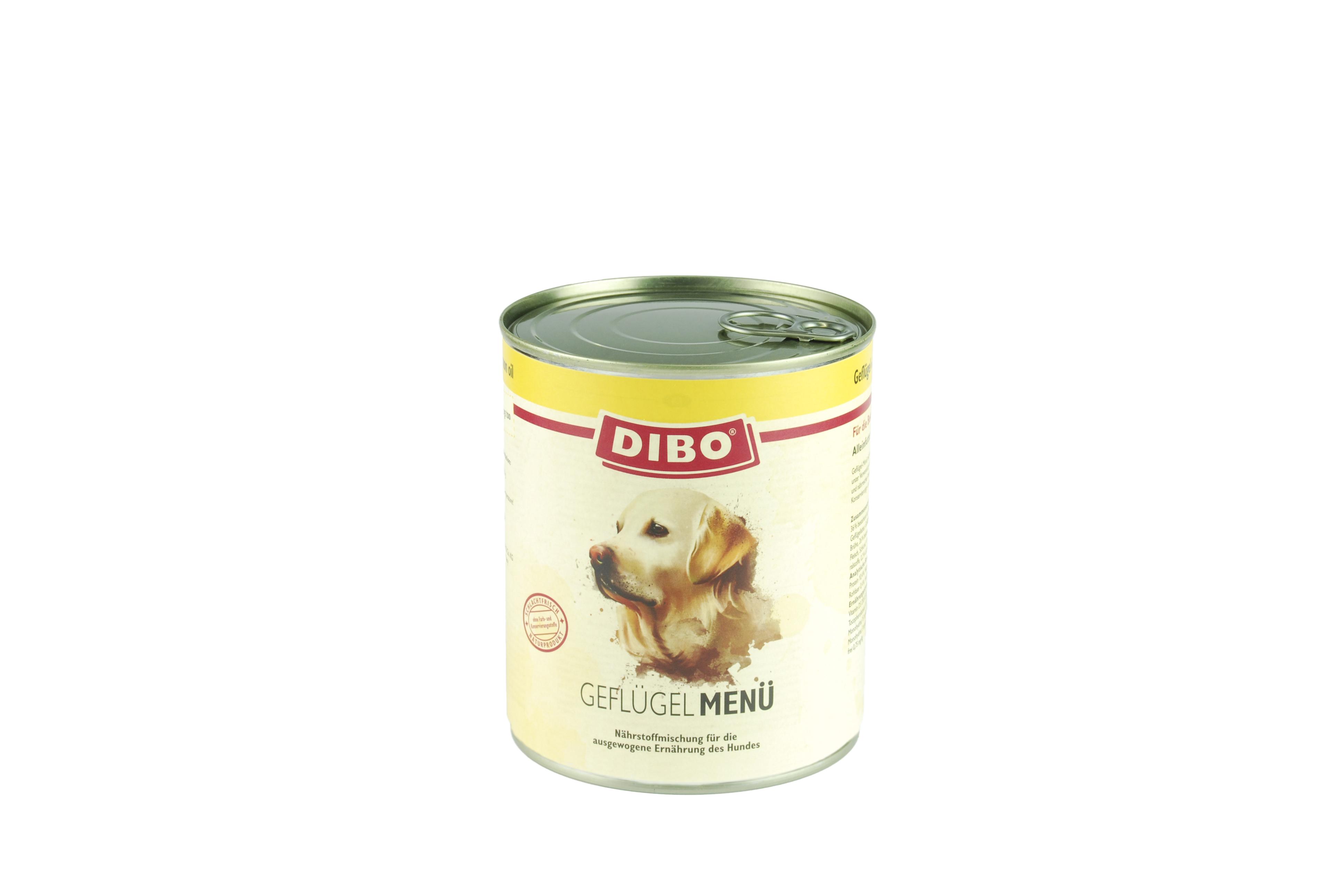 PUR Geflügel, 800g für Hunde