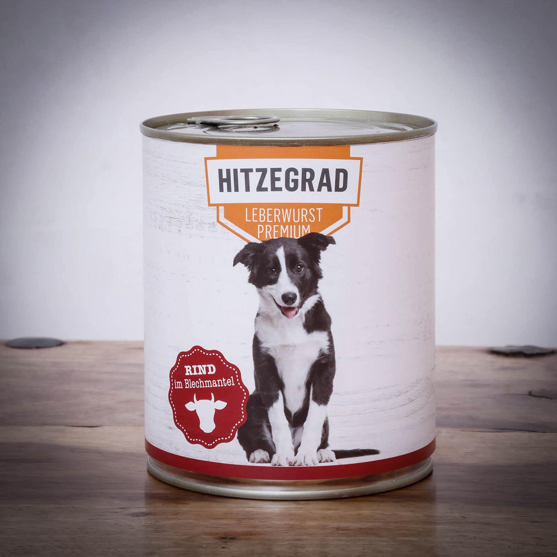 Hitzegrad - Leberwurst, 800g für Hunde