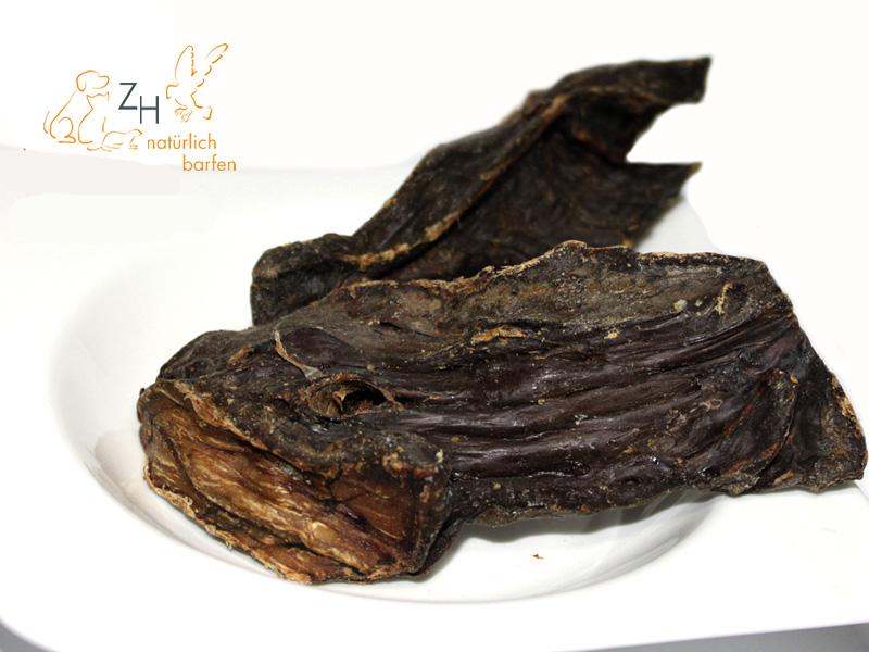 Pferdemuskelfleisch, getrocknet, 250g für Hunde
