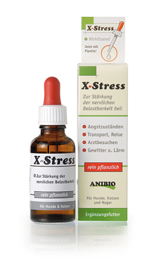 X-Stress rein pflanzlich, 30 ml für Katzen
