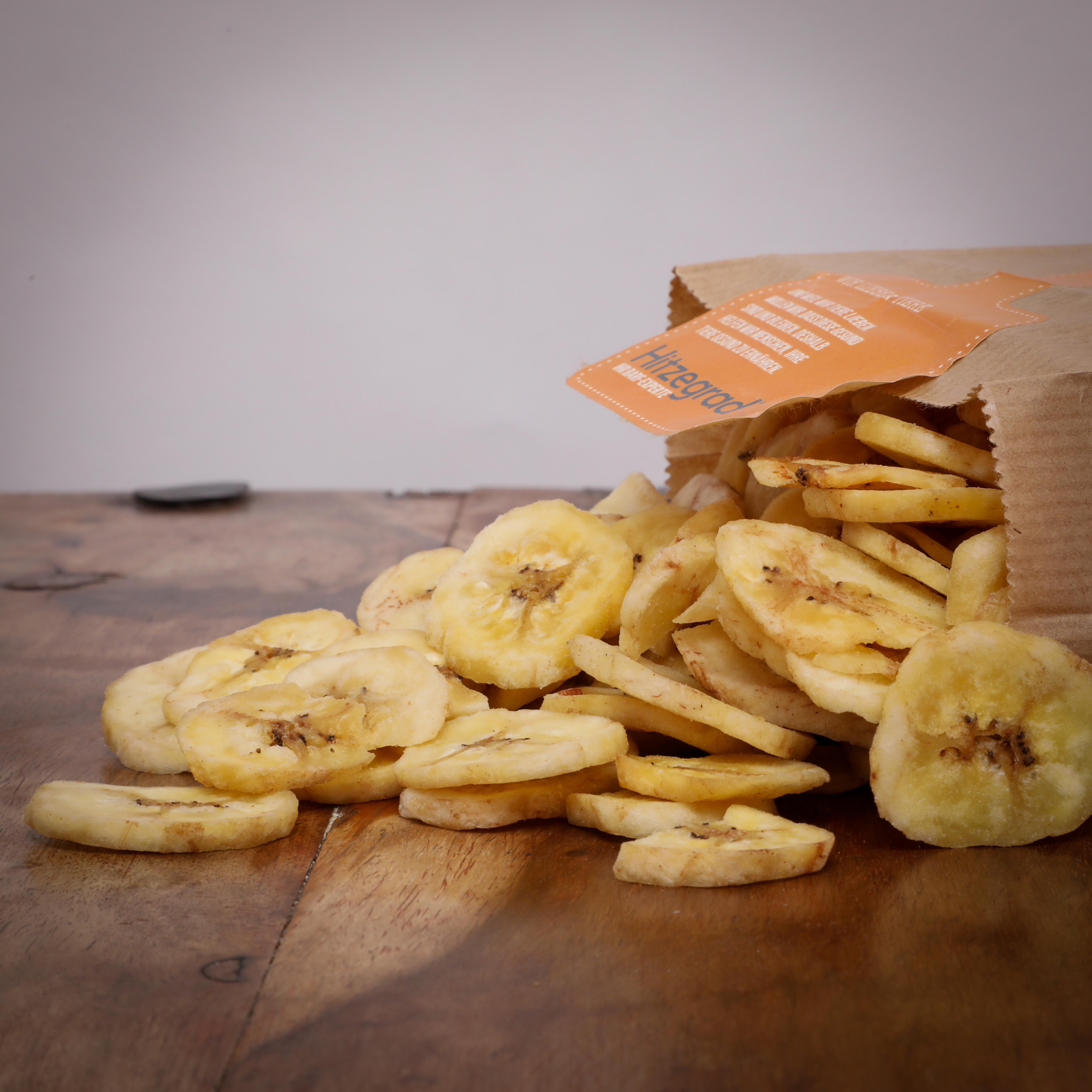 Bananenscheiben/ Bananenbruch, 500 g für Hunde