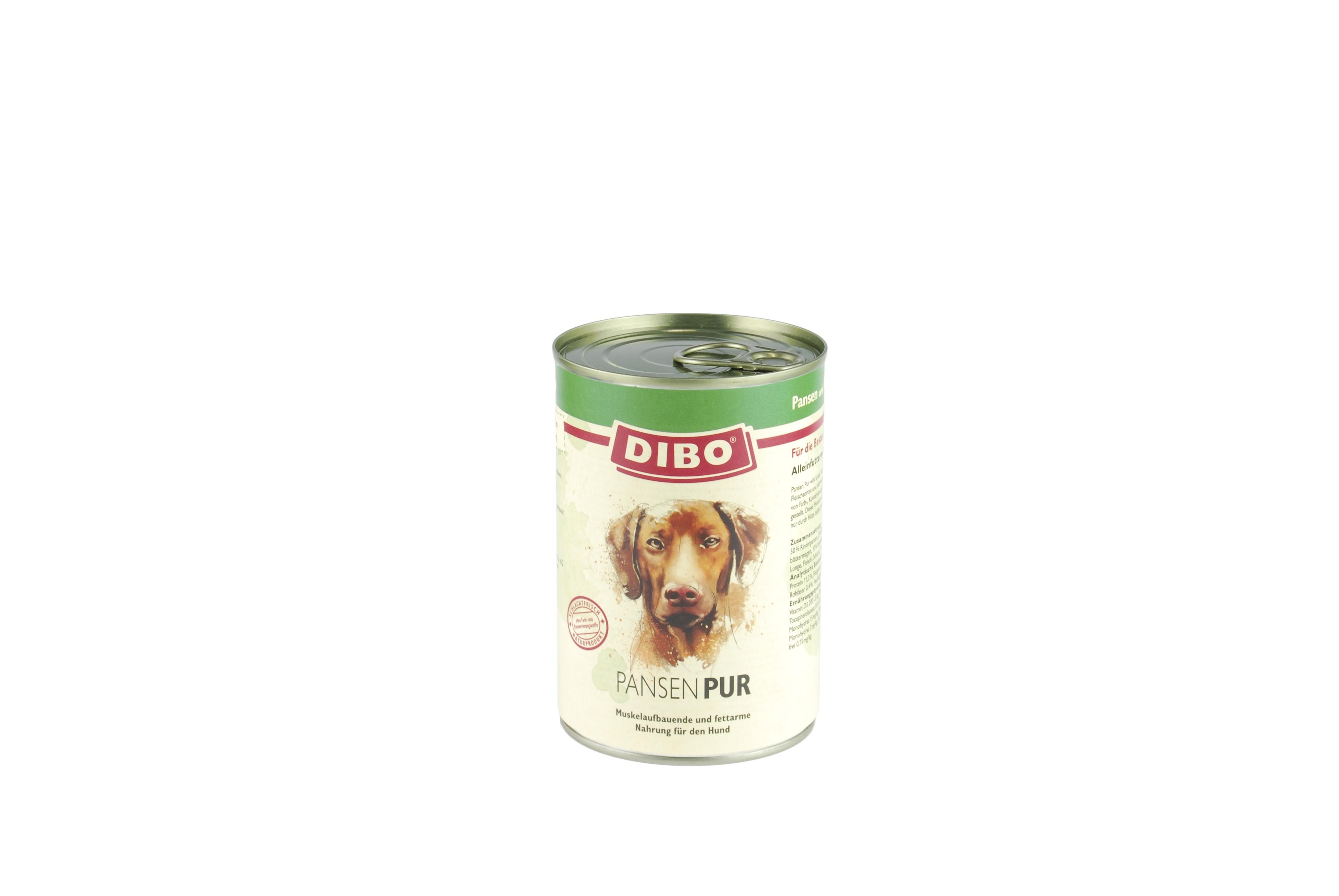 PUR Pansen/Blättermagen, 800 g für Hunde