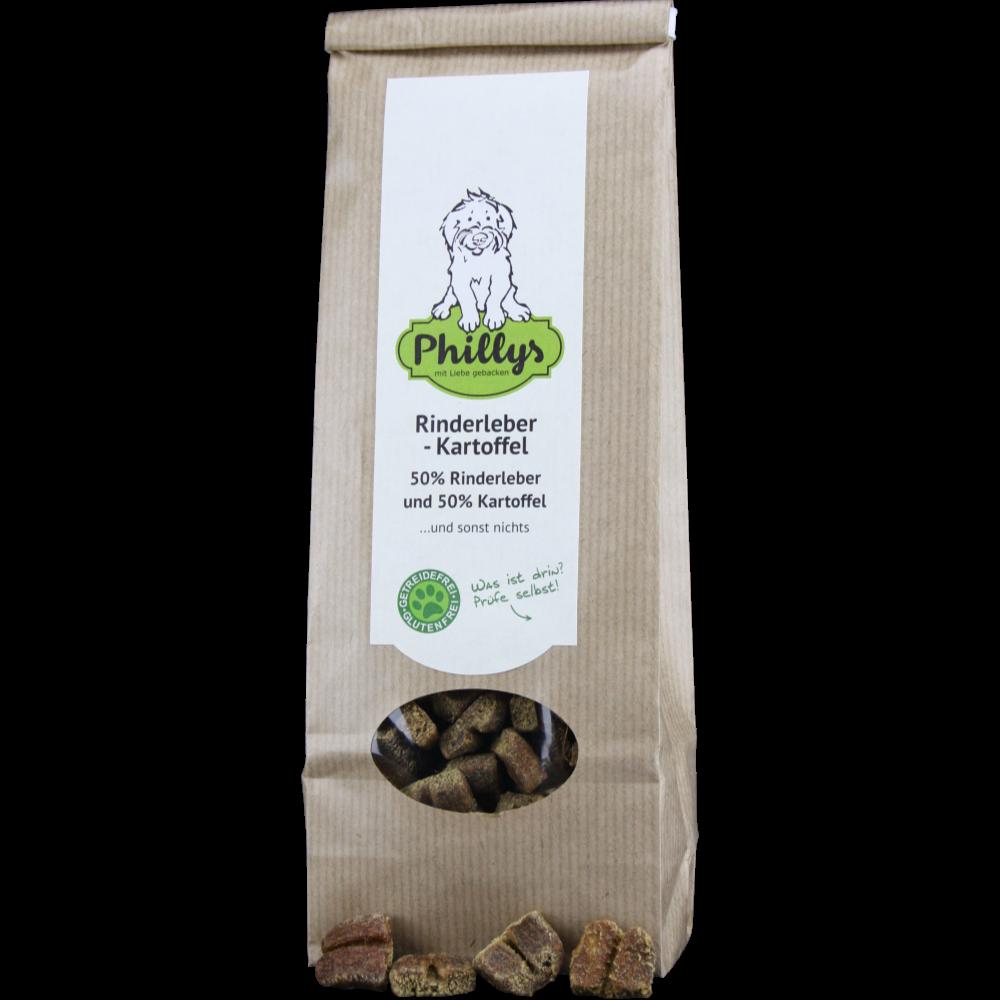 Phillys Rinderleber-Kartoffel, 150 g für Hunde