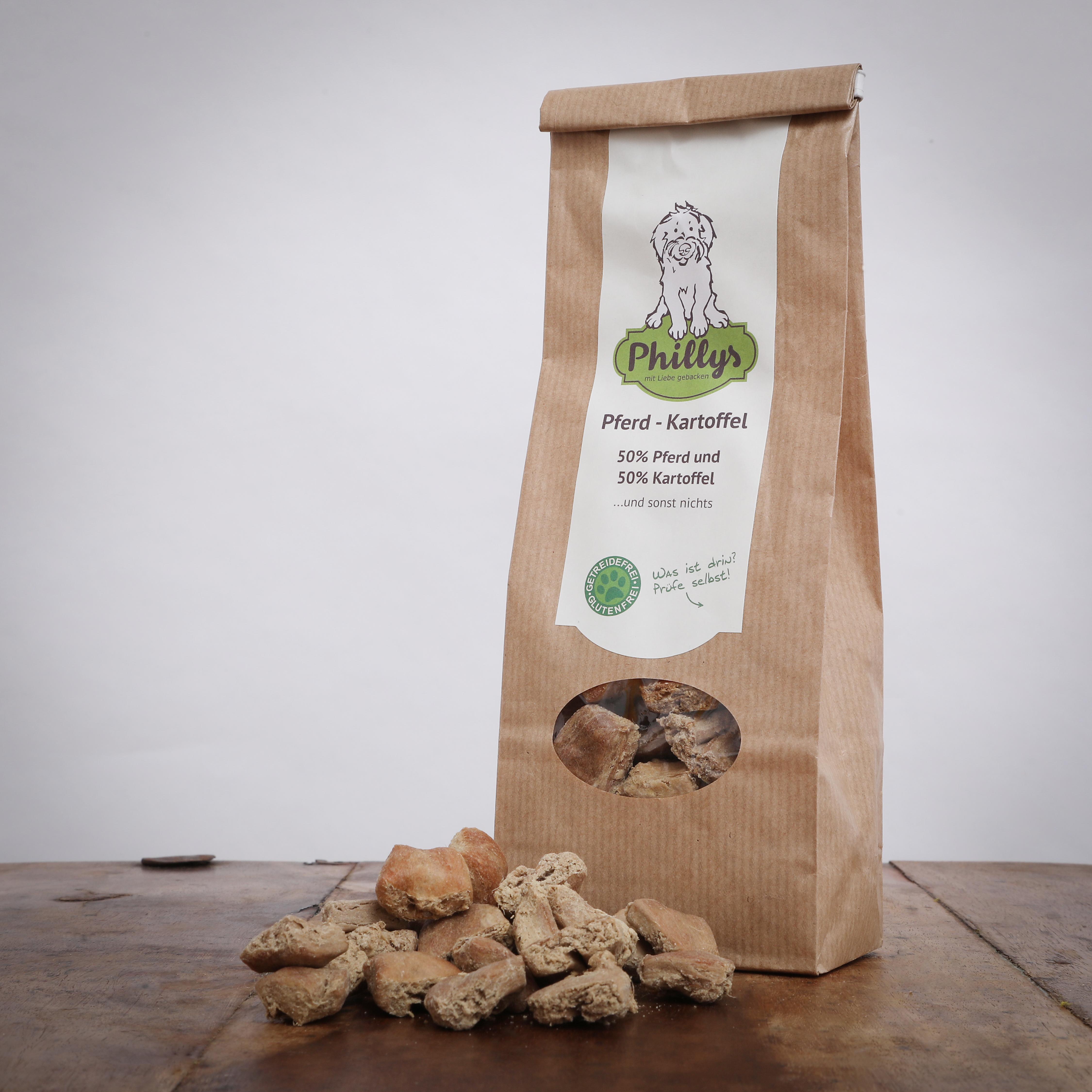 Phillys Pferd-Kartoffel, 150 g für Hunde