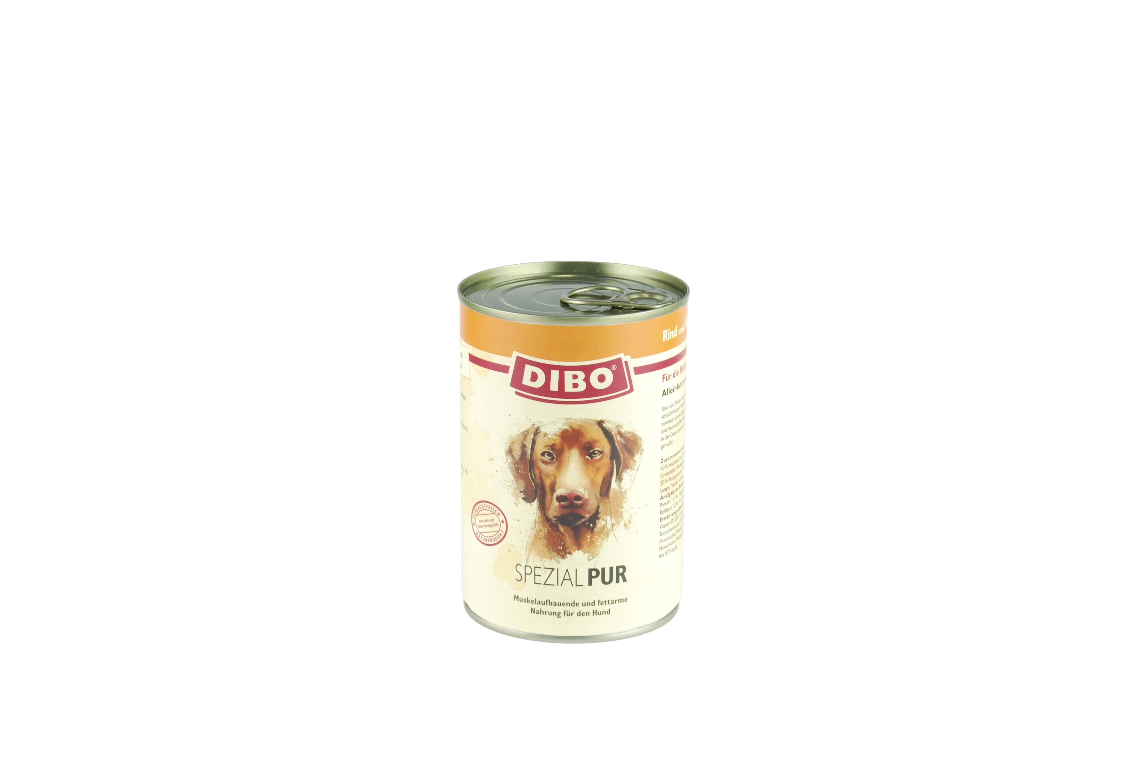 PUR Rind/Pansen - Spezial, 800g für Hunde