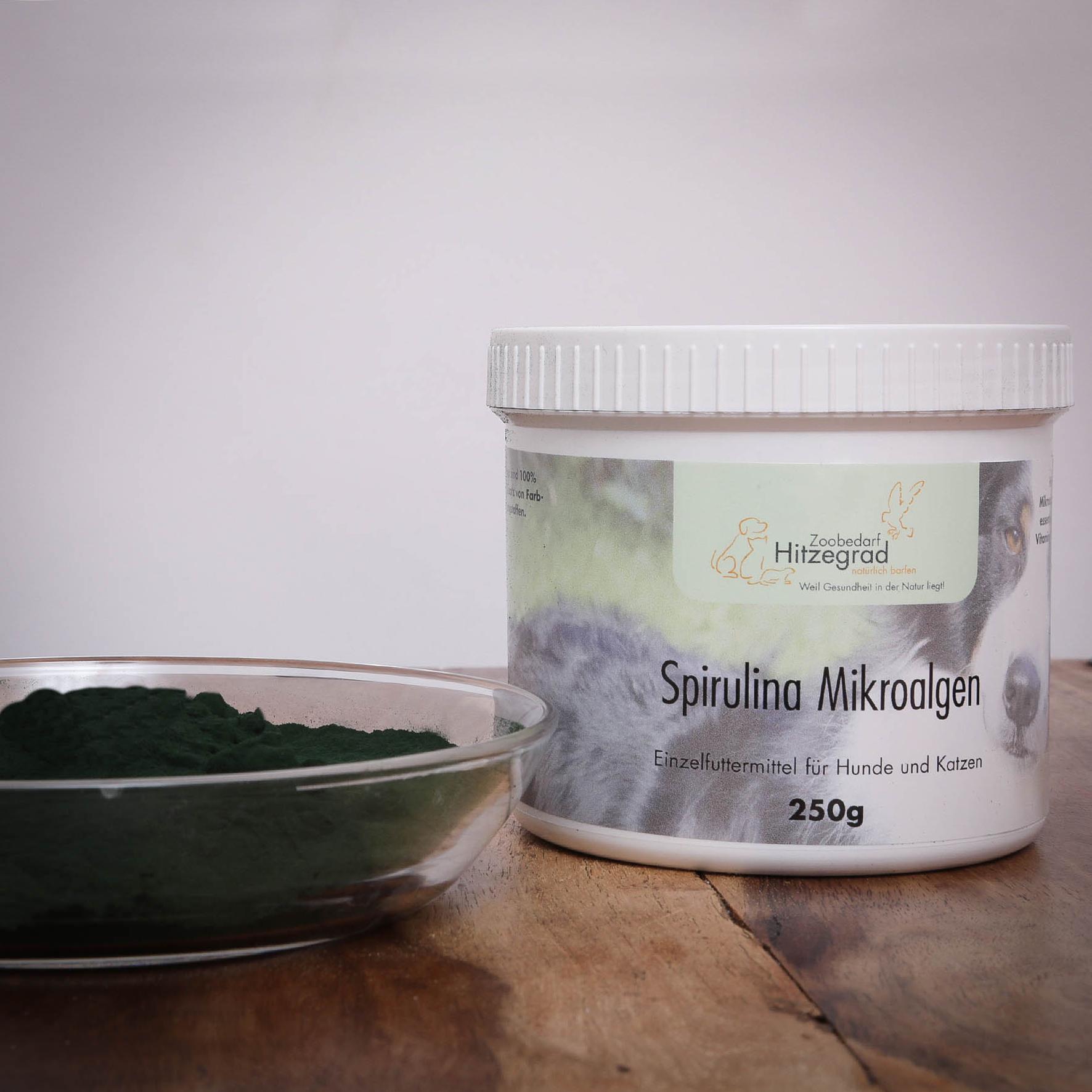 Spirulina für Katzen