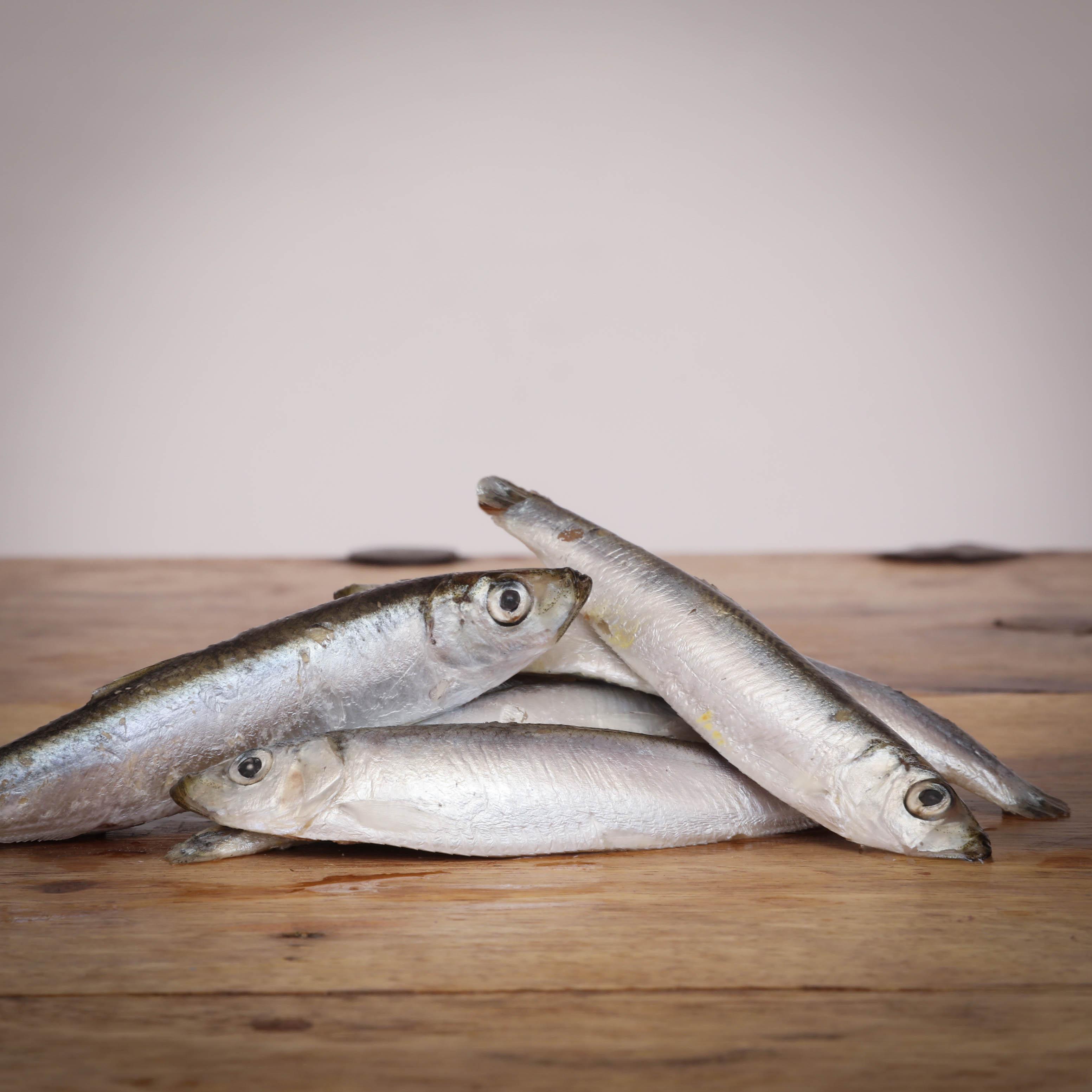 Sprotten, ganze Fische, 500 g für Katzen